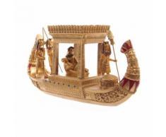 Bateau Auvent Egyptien Doré