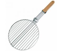 Grille Ronde Double 40 Cm Pour Barbecue