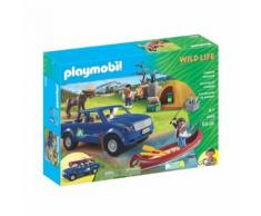 Playmobil Campeur Pick-Up Et Tente