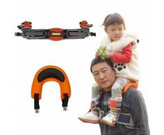 Ecamels® Saddlebaby Porte Bébé Chaise Main Libre Epaules Support Siège Pad Adjustable Pratique Nf