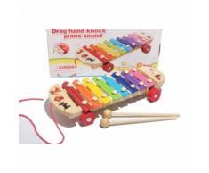 Bébé Kid Musical Jouets Xylophone Sagesse Développement Instrument En Bois