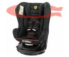 Siège Auto Ferrari Pivotant 360°Et Inclinable Made In France Groupe 0+ / 1 (0-18kg) - 4 Positions - Protection Latérales - Mycarsit