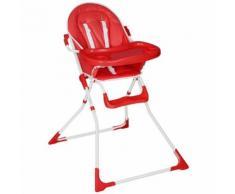 Chaise Haute Pour Bébé/Enfant Rouge Tectake