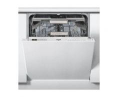 Whirlpool WKCIO3T123PEF - Lave-vaisselle - intégrable - Niche - largeur : 60 cm - profondeur : 57 cm - hauteur : 82 cm - gris métallisé