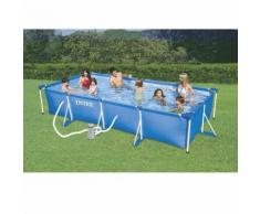 Piscine tubulaire rectangulaire 4,5x2,2x0,84m