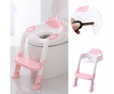 Toilette Bébé Enfant Petit Pot Siège Escabeau Échelle Chaise De Formation Réglable @Uapavmp2425