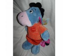 Doudou Äne Bourriquet Disney Nicotoy Dickie Toys Benelux Robe De Nuit Ethnique Bleu Orange Indien Jouet Bebe Naissance Peluche Éveil Enfant Comfort Blanket Comforter Soft Toy 50 Cm
