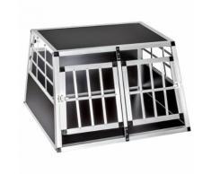 Cage, Caisse, Box De Transport Double Pour Chien En Aluminium Confort +