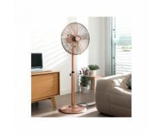 Ventilateur Sur Pied - Diam. 40cm Finition Cuivre