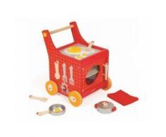 Chariot De Cuisine En Bois : The French Cocotte 34 X 32,5 X 43 Cm - Jeu D Imitation Enfant