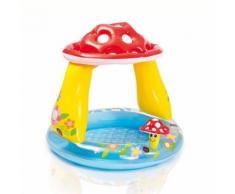 Piscine pour enfants champignon avec pare-soleil