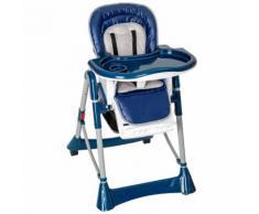 Chaise Haute Pour Bébé/Enfant Grand Confort Bleu