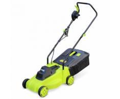 Alice's Garden - VOLTR - Tondeuse à gazon électrique 1300W - Récupérateur d'herbe 30L, diamètre de coupe 32cm, compacte et maniable.