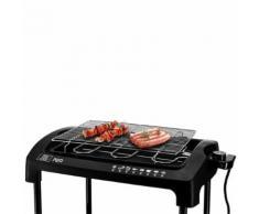 Barbecue Électrique Sur Pieds Ou Posable 2000w - Pem Pg212