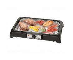Listo BAT L5 - Barbecue gril -électrique - 984 cm ² - thermomètre intégré - noir