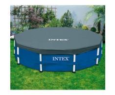 Bâche de protection pour piscine tubulaire ronde INTEX - OOGARDEN