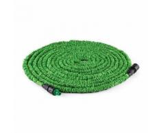 DURAMAXX Flex Extend - Rallonge souple de 30m pour tuyau d'arrosage, adaptateur inclus - vert