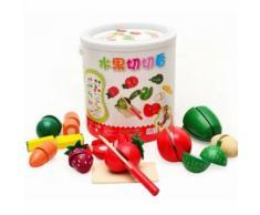 Jouet Éducatif, En Bois Couper Les Fruits Légumes Equipe De Baril Le Jouets En Cuisine Pour Les Enfants