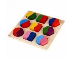 Puzzle Jouet Educatif En Bois Pour Bébé Enfant