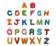 26 Lettres En Bois Cartoon Alphabet Fridge Magnet Enfant Bébé Enfant Jouet Éducatif