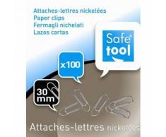 1 Boîte De 100 Attaches-Lettre 30 Mm Nickelées [Fournitures De Bureau]