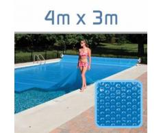 Linxor - Bâche à Bulle 300 microns Piscine 4m x 3m