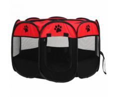 Portable Pliante Tente Pour Animal Domestique Chien Maison Cage Tente De Chien Chat Parc Chiot Chenil Utilisation Facile Octogonale Clôture Pour Animal Domestique Fournitures