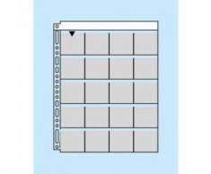 Panodia M56 100 Feuillets De Classement Pour Diapositives 5x5 Cm