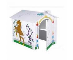 Maison Cabane Carton A Peindre Ou A Colorier Pour Enfant