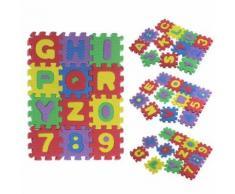 36pcs Bébé Enfant Nombre Alphabet Eva Puzzle Foam Tapis Cadeau Jouet Éducatif