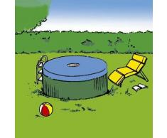 Bâche piscine ronde diamètre 4,20 m