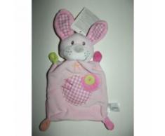 Doudou Plat Lapin Chien Nicotoy Simba Toys Benelux Vichy Rose Blanc Vert Jouet Bebe Naissance Peluche Éveil Enfant Blanket Comforter Soft Toys