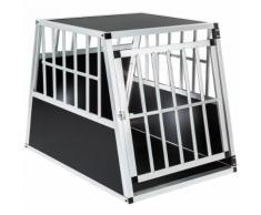 Cage, Caisse, Box De Transport Pour Chien En Aluminium 66 Cm X 90 Cm X 69,50 Cm Tectake