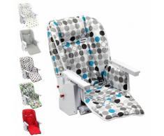 Housse D'Assise Pour Chaise Haute Bébé Enfant Gamme Ptit - Ptit Chou - Monsieur Bébé