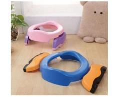 Multi-Fonction Réducteur De Toilettes Siège De Pot Portable Chambre Voiture Voyage Pour Bébé Bambin Entraîneur De Propreté Bleu