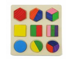 Puzzle 3d Jouet Jeux Casse-Tete Educatif En Bois Jouet Educatif Pour Enfant 02