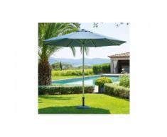 Parasol Ibaia bleu orage Jardin