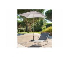 Parasol Anzio sable Jardin