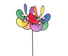 HQ Paradise Flower Duett Girouette, Multicolore, 35 x 45 x 82 cm