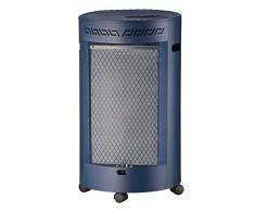 Favex Radiateur chauffage à gaz DESIGN CATALYSE Bleu 41,5 x 46 x 73 cm 8591008