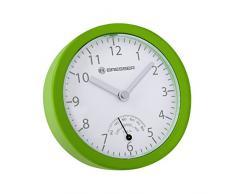 Bresser 8020115B4KQUA MyTime Bath Mini Horloge de bain Plastique Vert 14 x 3,5 x 14 cm
