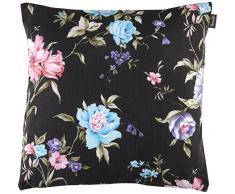 Hartman 14043529 Anthracite/Motif Fleur Coussin décoratif 45 x 45 cm