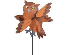 Premier Kite PKGIBO17 Girouette Oiseau Hibou, Marron, 40 x 26 x 111 cm
