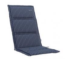 Kettler Advantage Chaises & Chaise avec dossier kte15 Coussin pour fauteuil 120 x 48 x 3 cm dess. 676, bleu