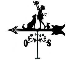 Imex-El Zorro 11049 girouette toit fille avec des chiens 900 mm