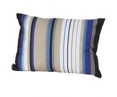 Madison 985124 Coussin Décoratif Coton/Polyester Bleu 40 x 60 cm
