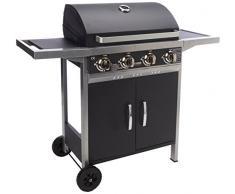 Sealey Barbecue à gaz Acier Inoxydable 4-Burner