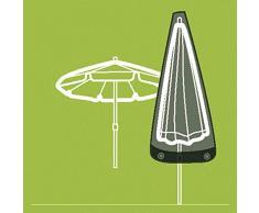 Siena Garden hauben de recouvrement et pochettes pour parasol jusquà 200 cm, tissu en polyester Oxford 600 Anthracite, gris