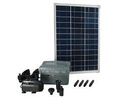 Ubbink Pompe solarmax, avec Panneau Solaire et batería-acumulador y Compris, 1.000 l, 1 x 1 x 1 cm, 1351182