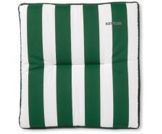 Kettler 0309303-8715 Coussin pour tabouret 50 x 50 x 6 cm (Vert/blanc) (Import Allemagne)